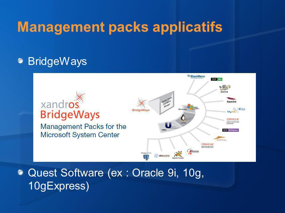 Supervision de plateformes Unix/Linux Exemples dalertes avec les MP Applicatifs (BridgeWays)