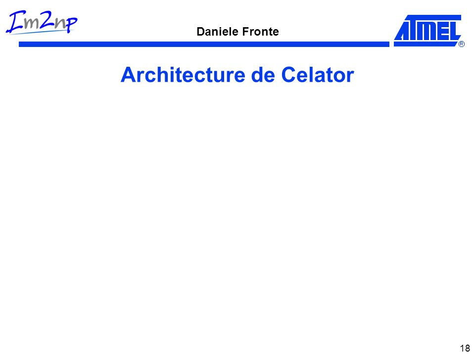 Daniele Fronte 18 Architecture de Celator