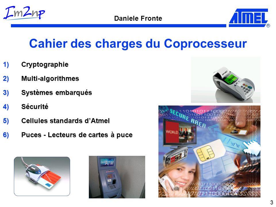 Daniele Fronte 4 Choix 1)Cryptographie Clé secrète.