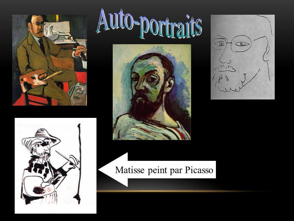 Matisse peint par Picasso