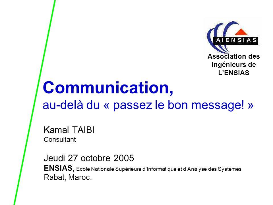 Communication, au-delà du « passez le bon message.