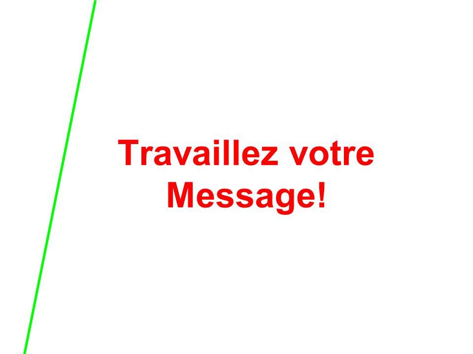 Travaillez votre Message!