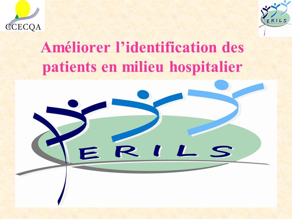 Améliorer lidentification des patients en milieu hospitalier