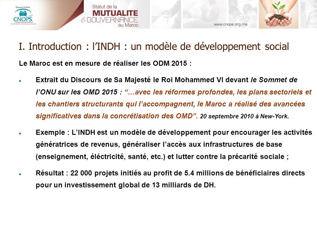 Le Maroc est en mesure de réaliser les ODM 2015 : Extrait du Discours de Sa Majesté le Roi Mohammed VI devant le Sommet de lONU sur les OMD 2015 : …av