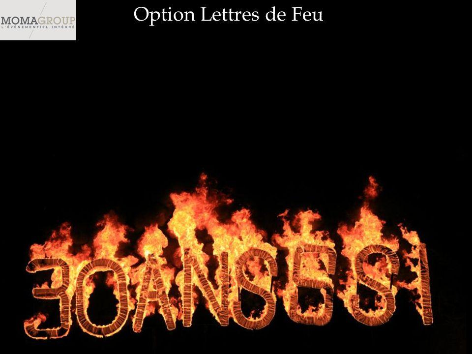 Option Lettres de Feu