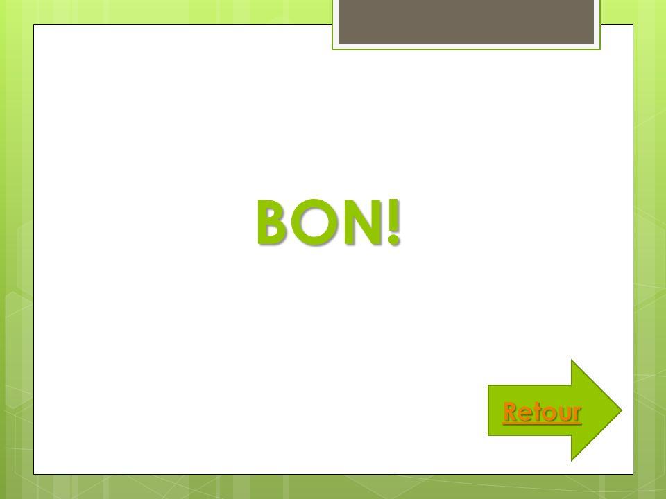 BON! Retour