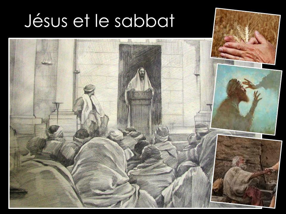 Il vint à Nazareth, où il avait été élevé, et il se rendit à la synagogue, selon sa coutume, le jour du sabbat.