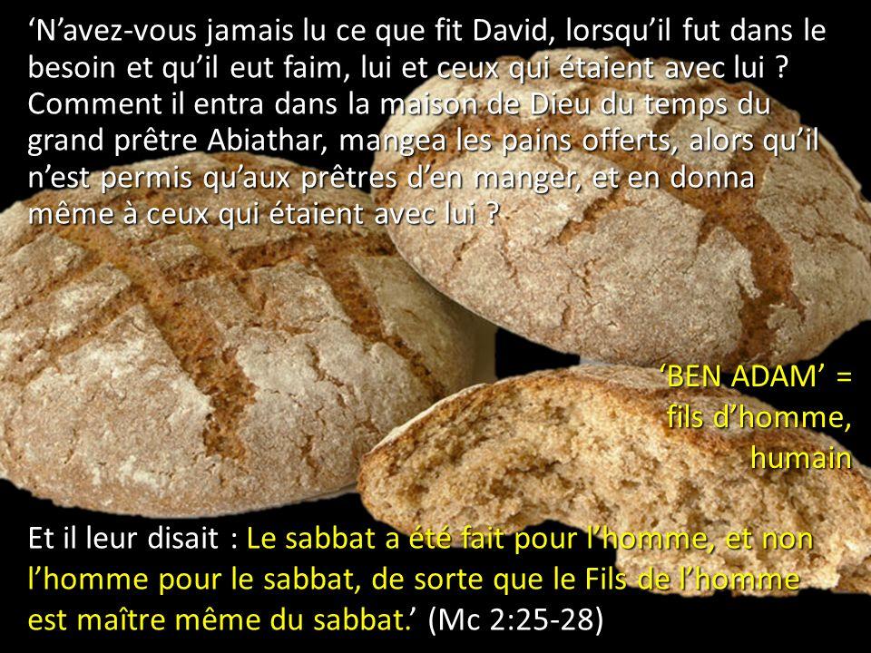 1.Vis-tu le sabbat comme un cadeau .Pourquoi (pas) .