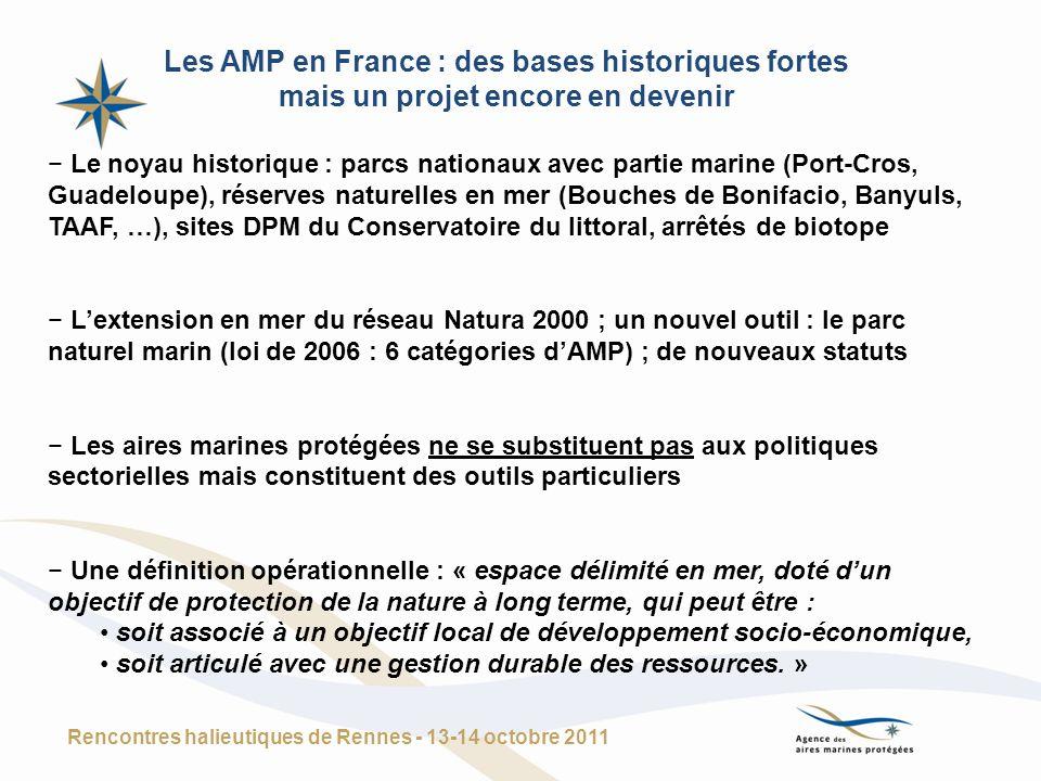 Les AMP en France : des bases historiques fortes mais un projet encore en devenir Le noyau historique : parcs nationaux avec partie marine (Port-Cros,