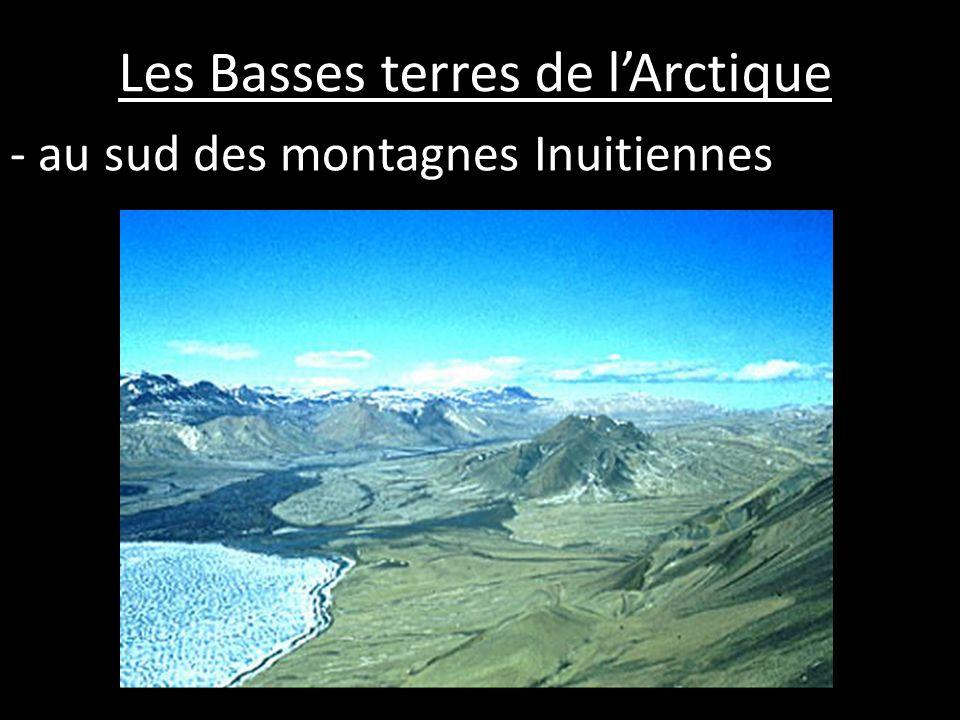 Les Basses terres de lArctique - au sud des montagnes Inuitiennes