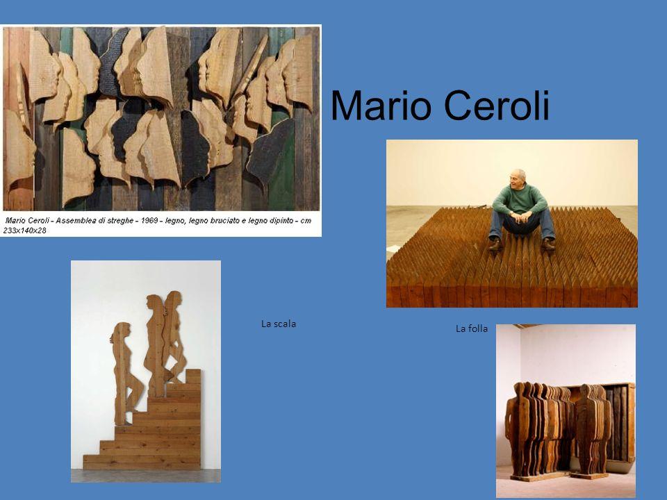 Mario Ceroli La folla La scala