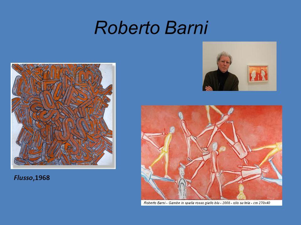 Roberto Barni Flusso,1968