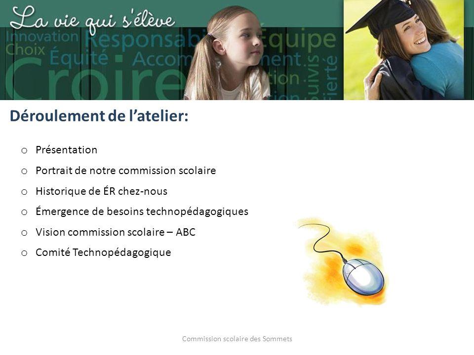 Commission scolaire des Sommets La force de notre réseau ABC 27 écoles primaires 2 écoles secondaires Année scolaire 2013-14