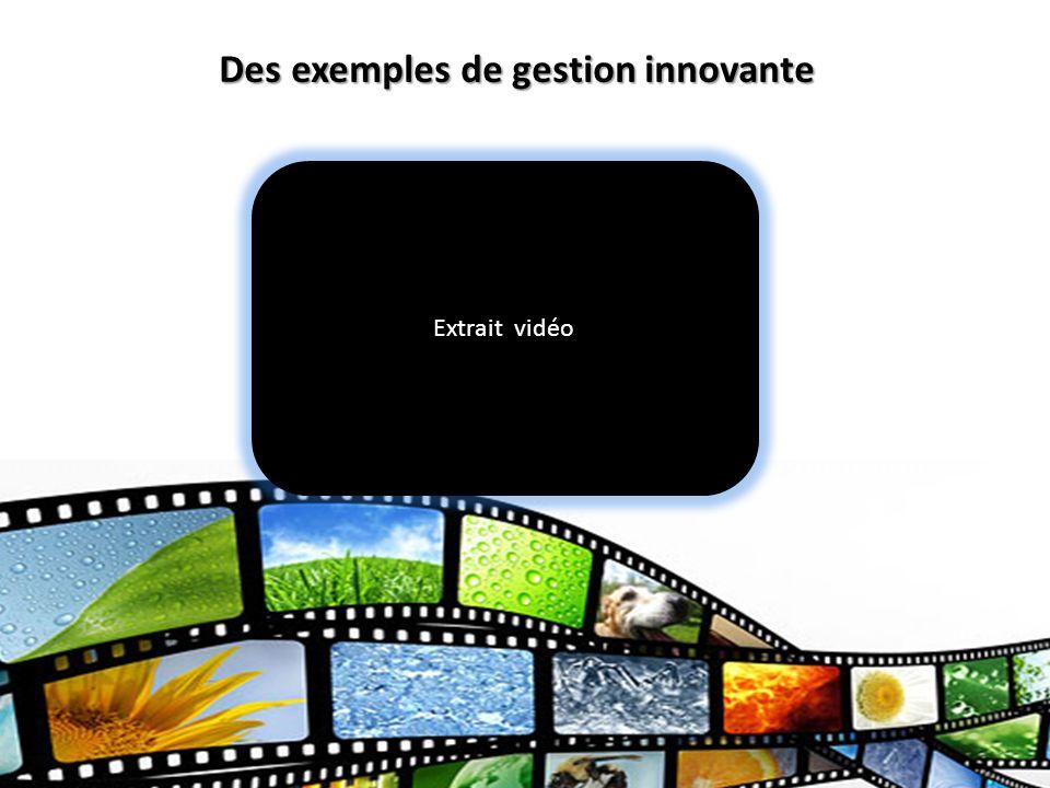 Commission scolaire des Sommets Des exemples de gestion innovante Extrait vidéo