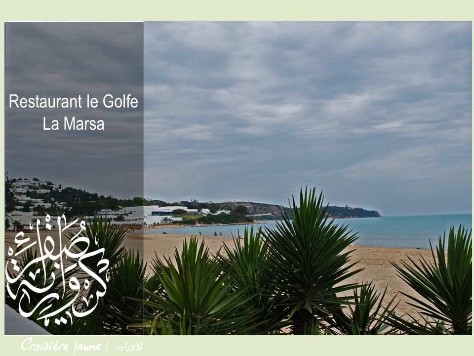 Le Restaurant LE GOLFE vous accueille dans une Ambiance Chic, Romantique et Branchée et vous propose des Spécialités Internationales, Francaise et Fruits de Mer Situé sur la plage de Sidi Abdelaziz à La Marsa, le restaurant Le Golfe vous accueille depuis plus de 50 ans de midi à minuit en service continu.