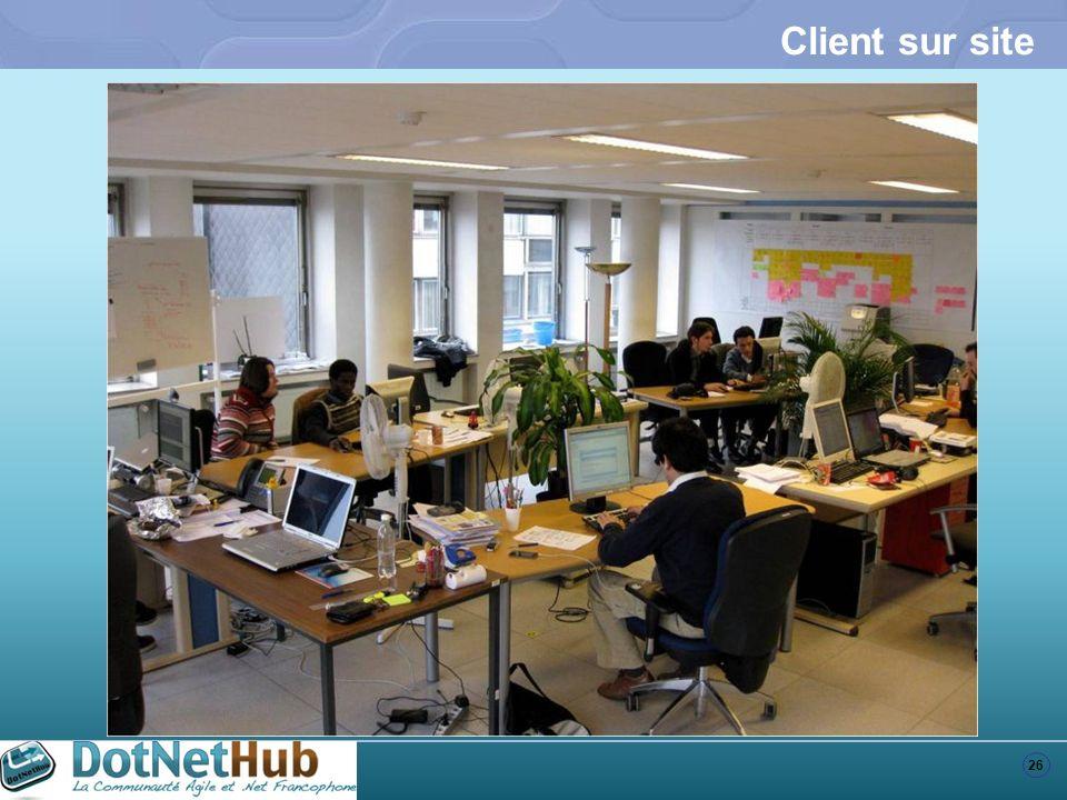 26 Client sur site