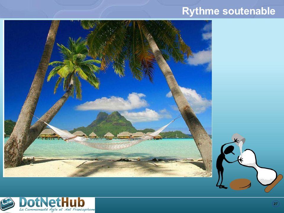 27 Rythme soutenable