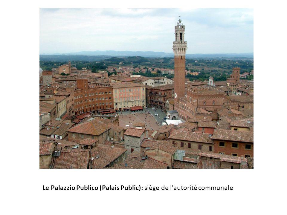 Le Palazzio Publico (Palais Public): siège de l'autorité communale