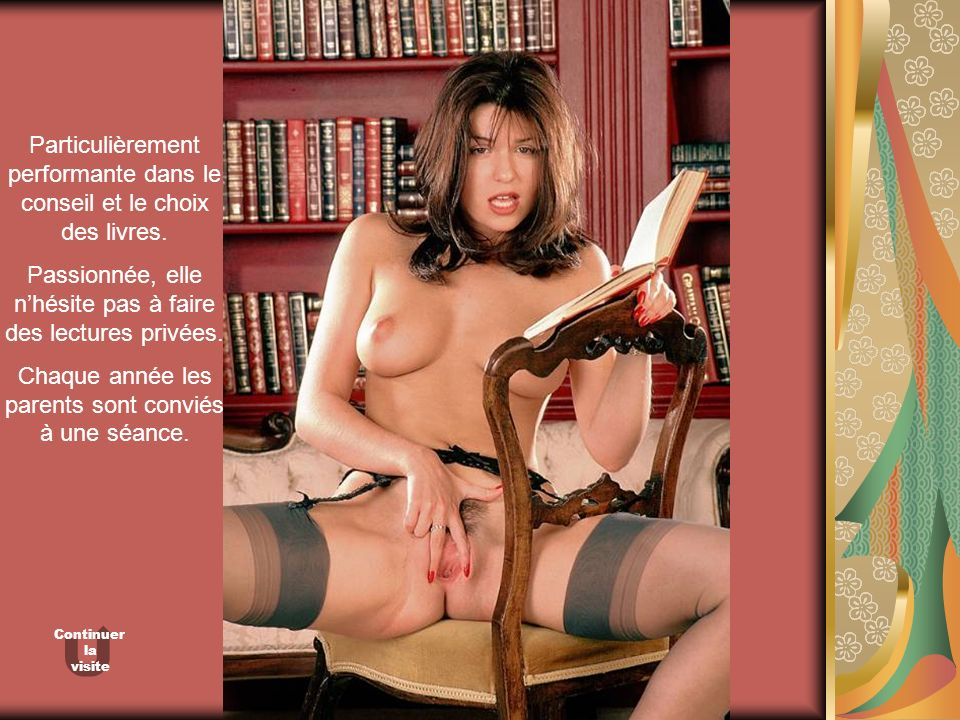 Particulièrement performante dans le conseil et le choix des livres. Passionnée, elle nhésite pas à faire des lectures privées. Chaque année les paren