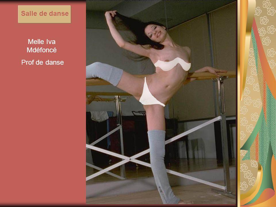 Melle Iva Mdéfoncé Prof de danse Salle de danse