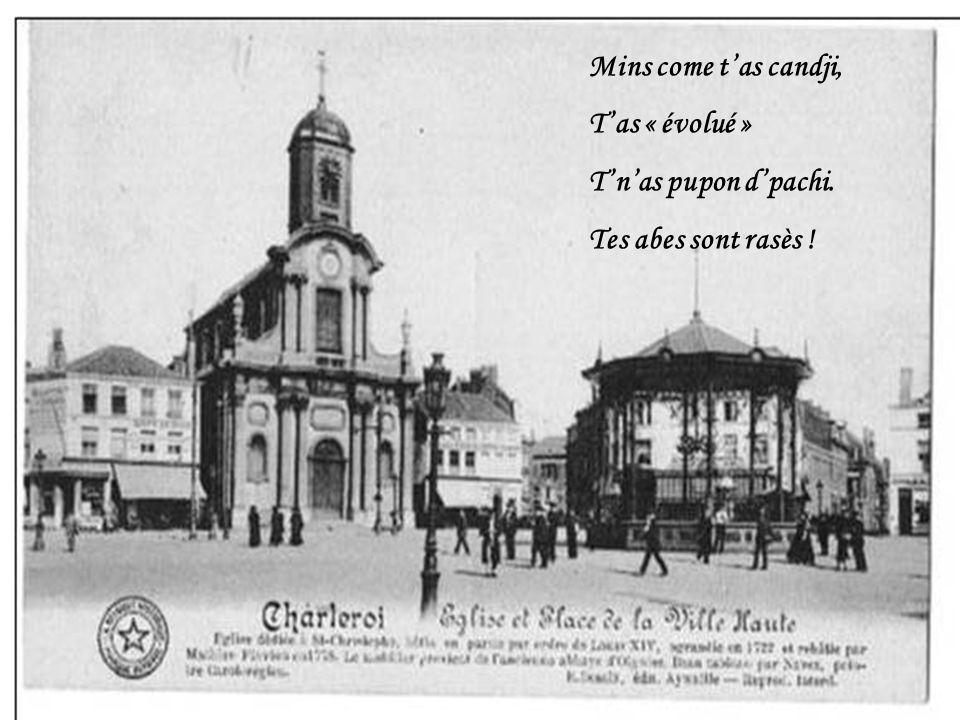 Charleroi Place Charles II - Ville Haute Sacré Charlerwe Qwè cqui faut qui djfèye Pou npu yès sot dtwè Dène façon parèye ?