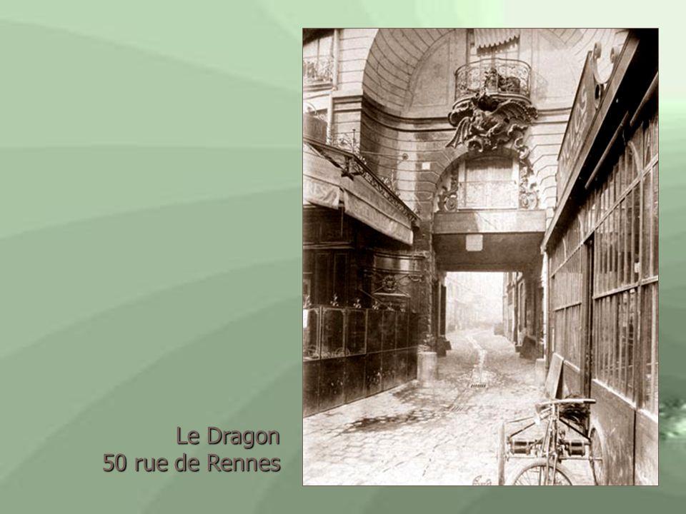 Le Dragon 50 rue de Rennes 50 rue de Rennes
