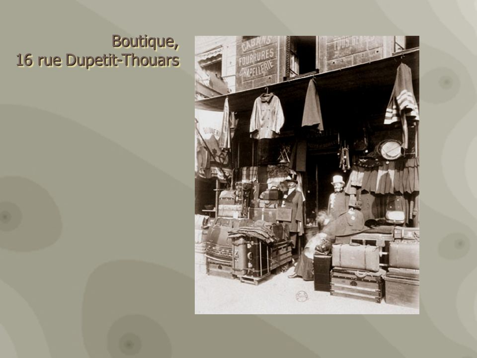 Boutique, 16 rue Dupetit-Thouars 16 rue Dupetit-ThouarsBoutique,