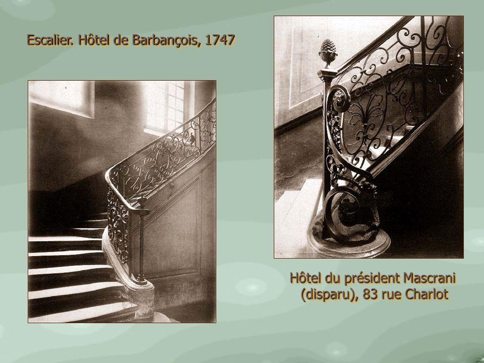 Hôtel du président Mascrani (disparu), 83 rue Charlot (disparu), 83 rue Charlot Hôtel du président Mascrani (disparu), 83 rue Charlot (disparu), 83 ru