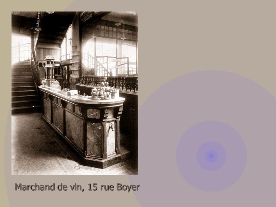 Marchand de vin, 15 rue Boyer