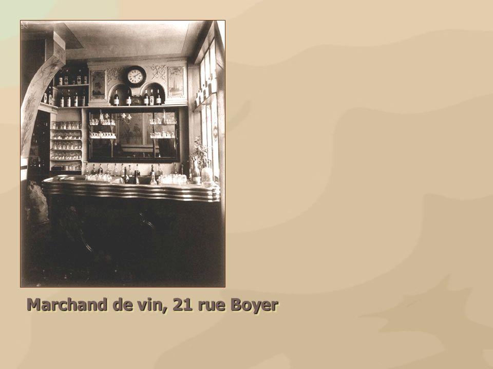 Marchand de vin, 21 rue Boyer
