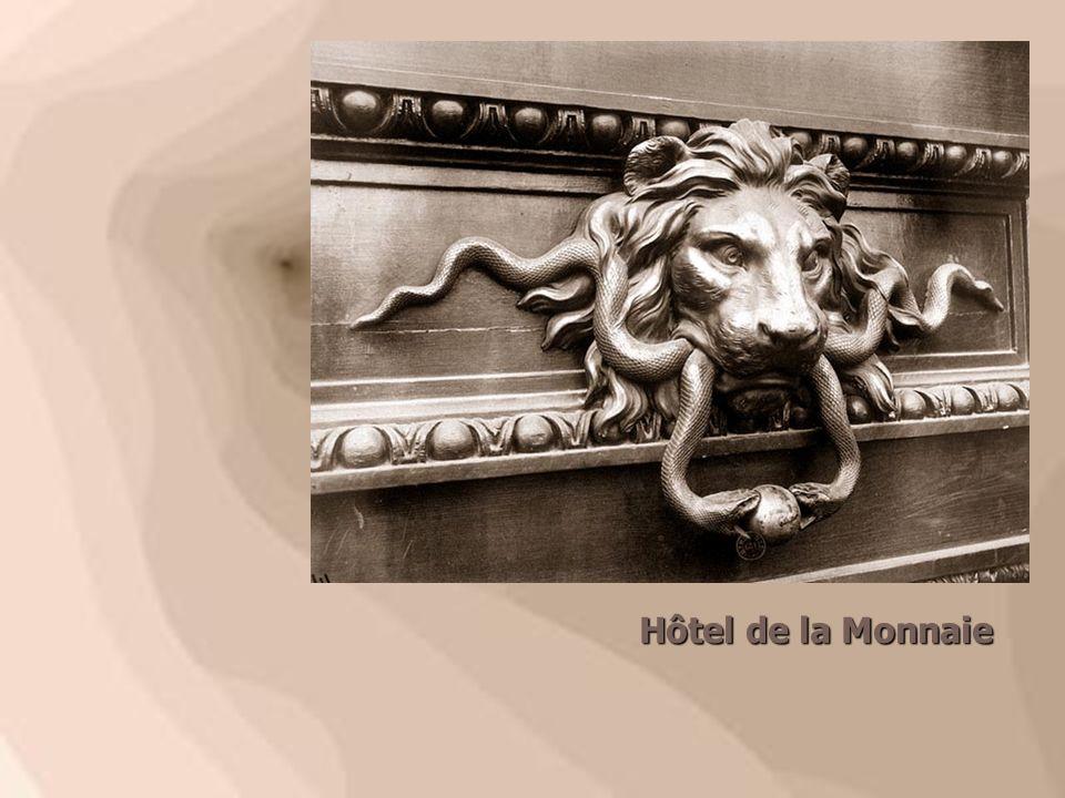 Heurtoir.43 rue Sainte Anne (Hôtel de Cursay), 1907 (Hôtel de Cursay), 1907 Heurtoir.43 rue Sainte Anne (Hôtel de Cursay), 1907 (Hôtel de Cursay), 1907