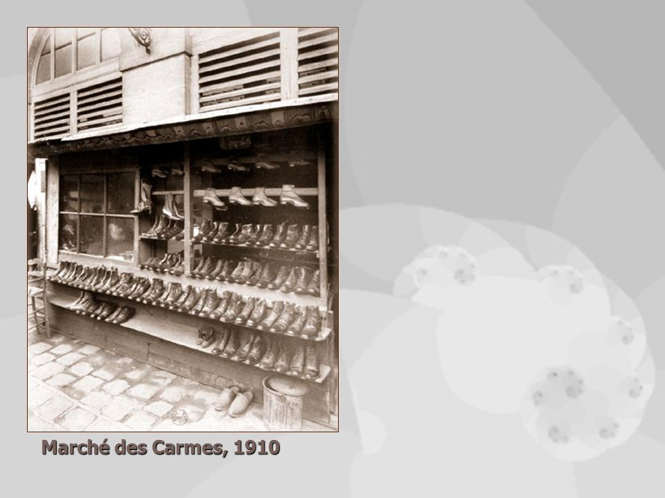 Marché des Carmes, 1910