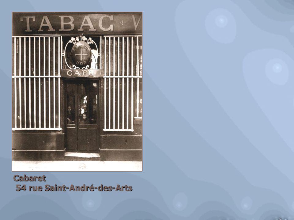 Cabaret 54 rue Saint-André-des-Arts 54 rue Saint-André-des-Arts