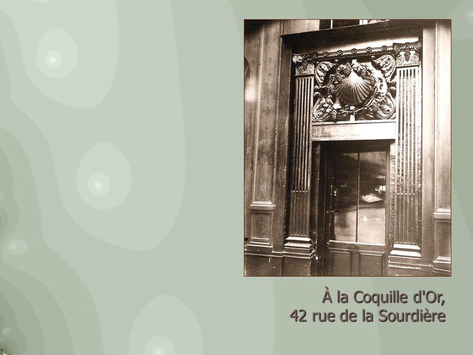 Cul-de-sac Fiacre, 81 rue Saint-Martin