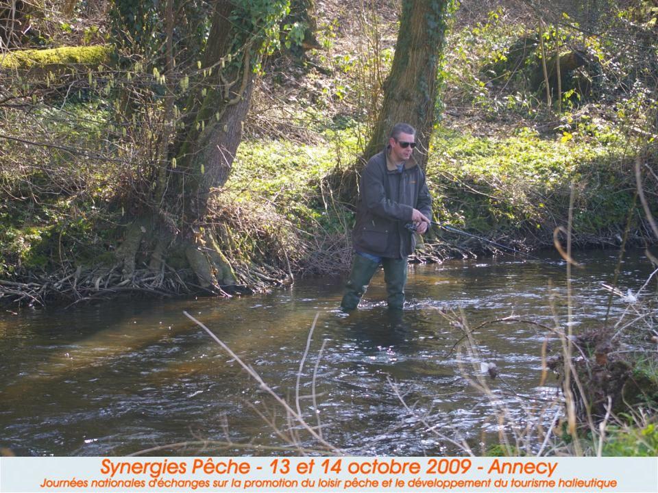 Le pêcheur grand public nest pas une cible pour le développement du tourisme-pêche.