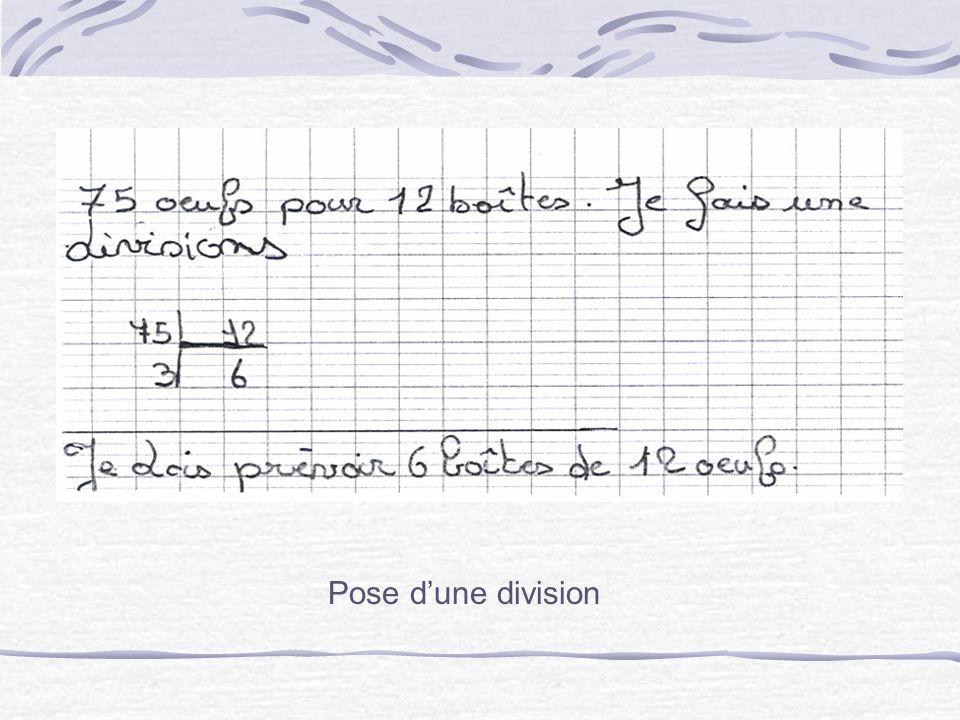 Étapes 3 et 4 – Formulation de conjectures et résolution par les élèves Les deux premières réponses sont alors exposées par les élèves au tableau.