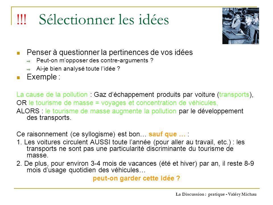 La Discussion : pratique - Valéry Michau !!.