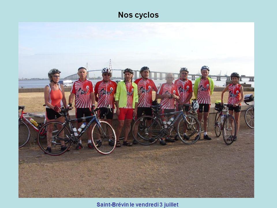Nos cyclos Saint-Brévin le vendredi 3 juillet