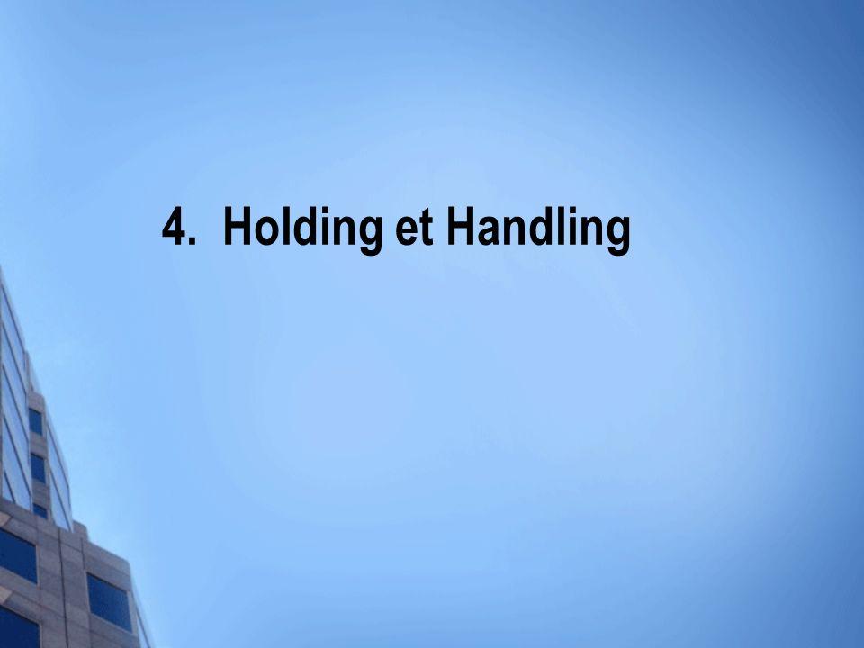 4. Holding et Handling