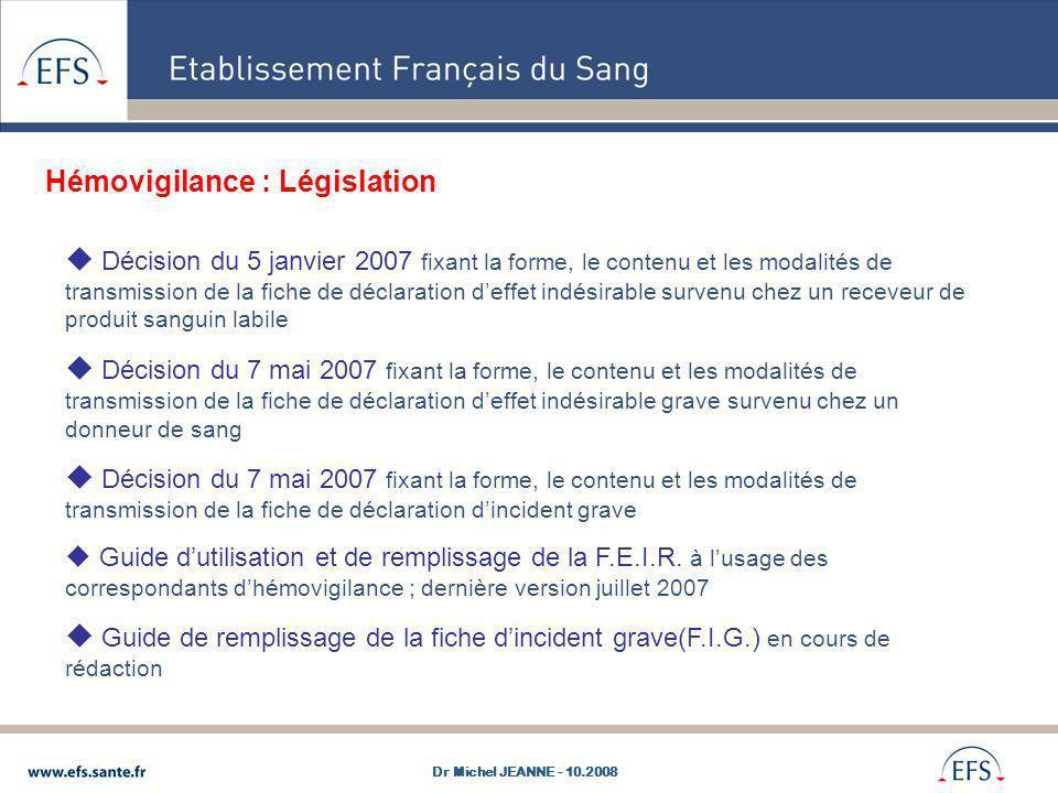 Décision du 5 janvier 2007 fixant la forme, le contenu et les modalités de transmission de la fiche de déclaration deffet indésirable survenu chez un
