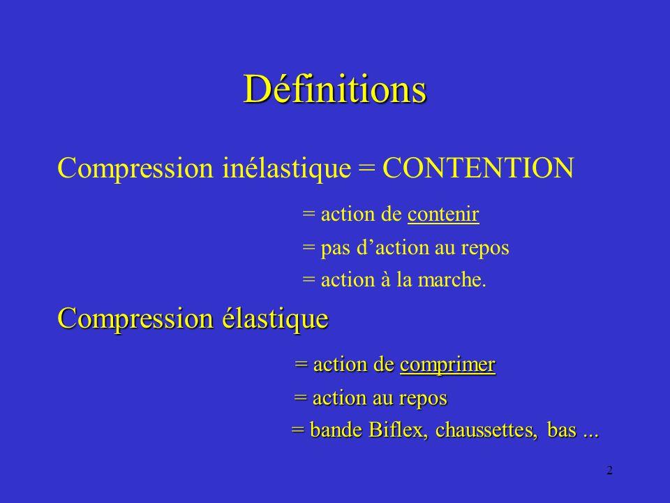 13 Règles de Bonne Utilisation 5 ième NOTION bandes, bas ou chaussettes ??.