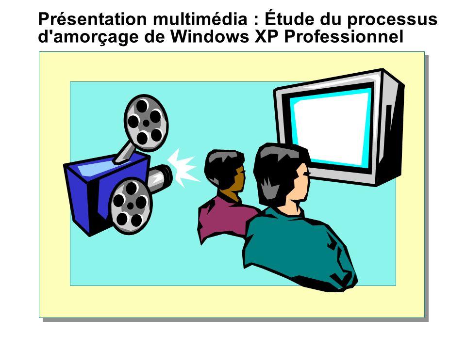 Présentation multimédia : Étude du processus d'amorçage de Windows XP Professionnel