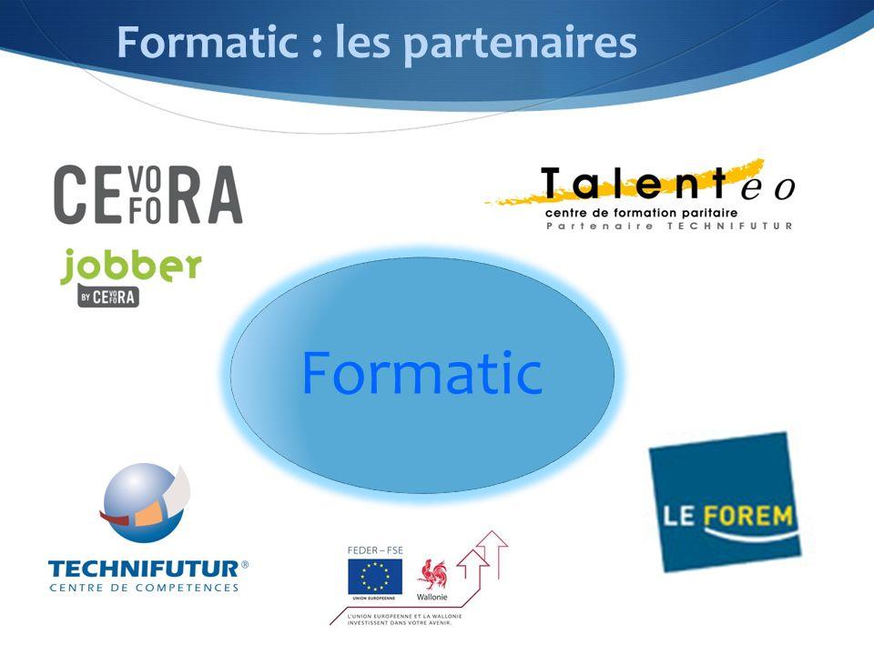 Formatic : les partenaires