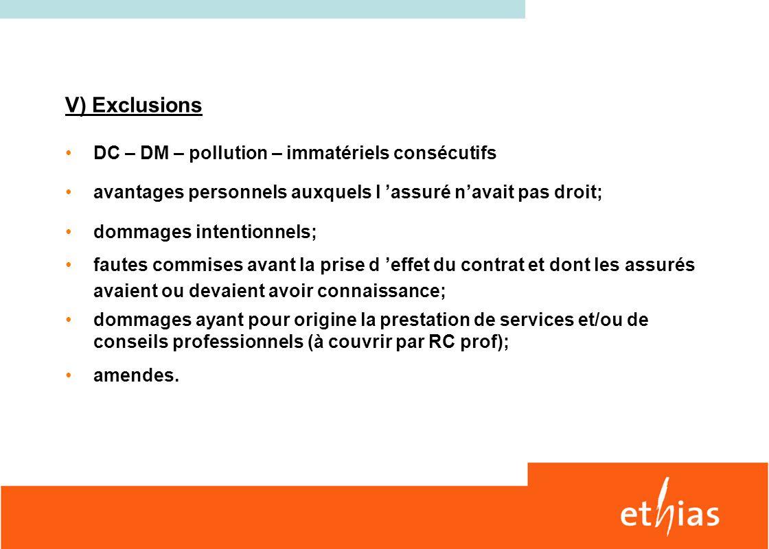 Octobre 2010 b) Mandats externes Preneur dassurance ASBL X ASBL Y Administrateur 1 Administrateur 2 Administrateur 3 Administrateur 4 Administrateur 5