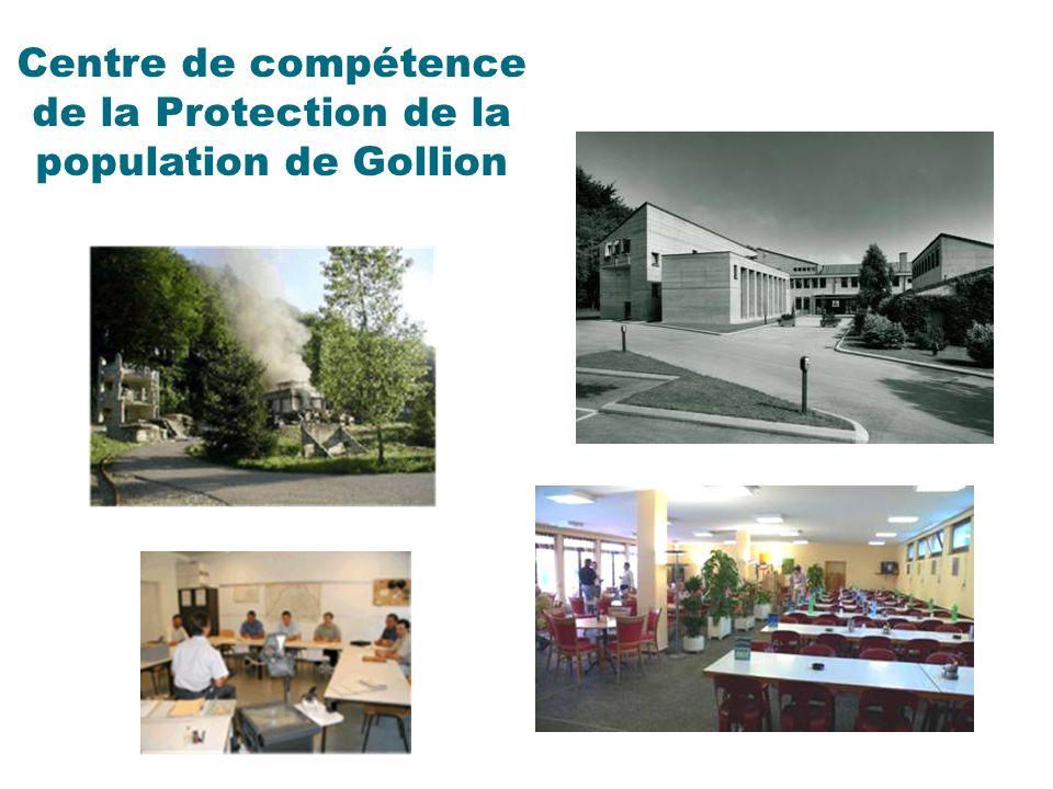Centre de compétence de la Protection de la population de Gollion