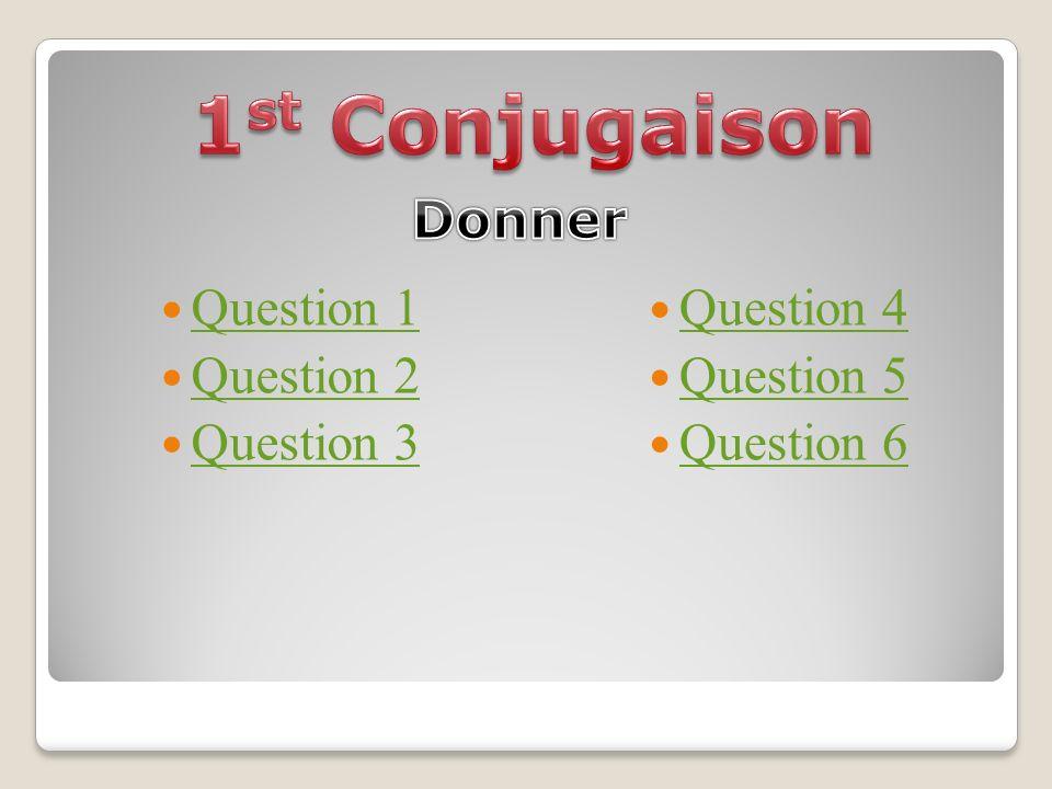 Question 1 Question 2 Question 3 Question 4 Question 5 Question 6