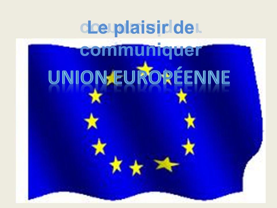 Aujourdhui cest le 9 mai, fête de lUnion Européenne.