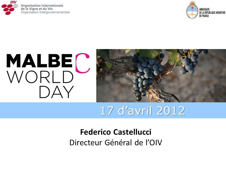 Federico Castellucci Directeur Général de lOIV 17 davril 2012