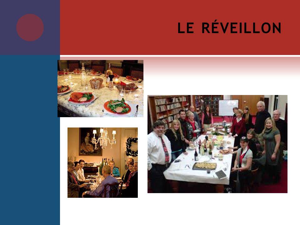 LE RÉVEILLON