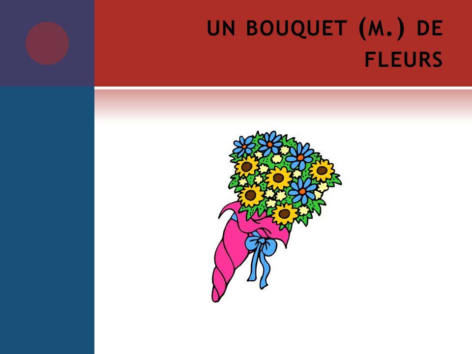 UN BOUQUET ( M.) DE FLEURS